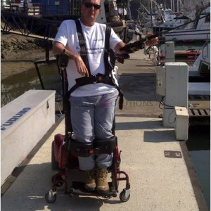 Dean Fishing at the Harbour 1