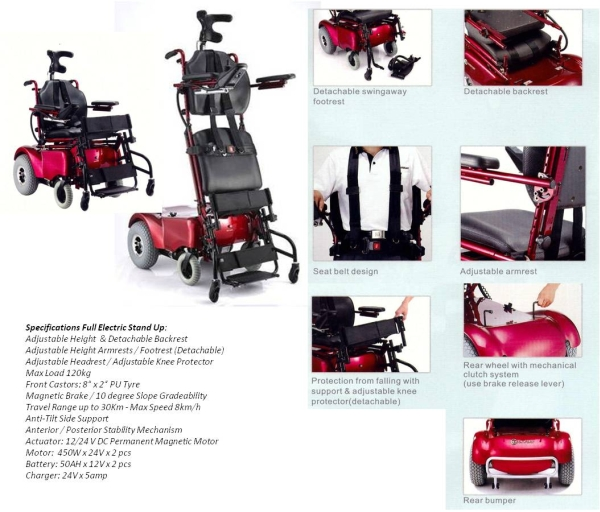 Standing Electric Wheelchair Mobility Solutions