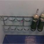 Oxygen Bottle Holder Wall mount