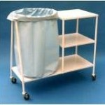 Soiled Linen Receiver 3 Shelves