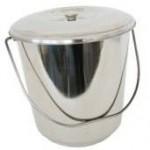 Stainless Steel Bucket & Lid