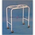 Stands - Double Bowl Stand Epoxy Coated