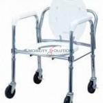 Commode Folding on wheels