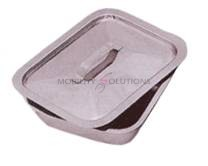 Stainless Steel Dressing Tray with Lid