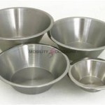 Stainless Steel Tapered Bowls (Kickabout)