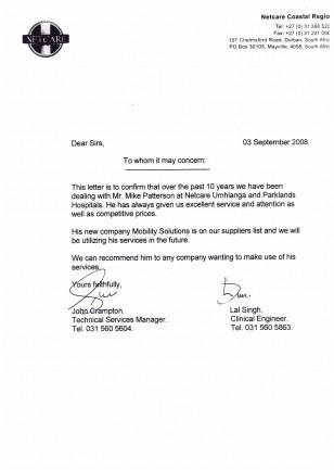 Testimonial Netcare Umhlanga Hospital