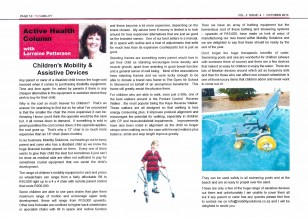 Children s Mobility & Assistive Devices